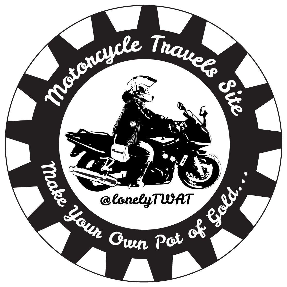 Motorcycle Travels Site @lonelyTWAT