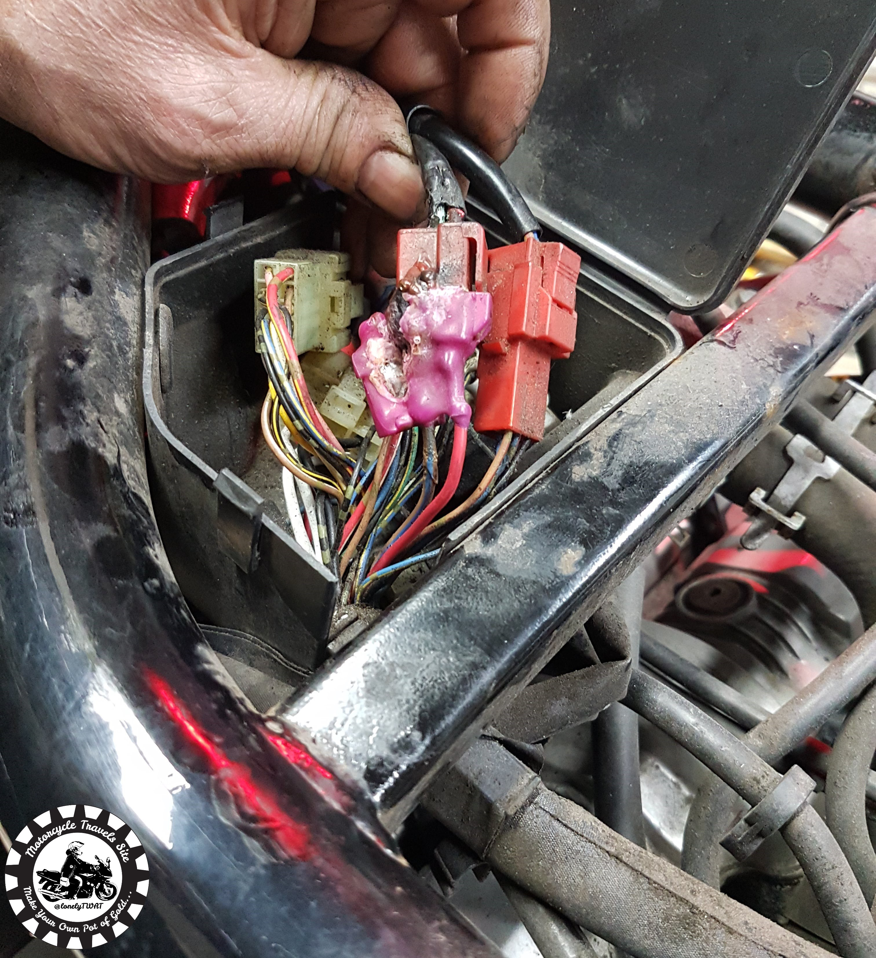 Electrical Fault on the Fazer