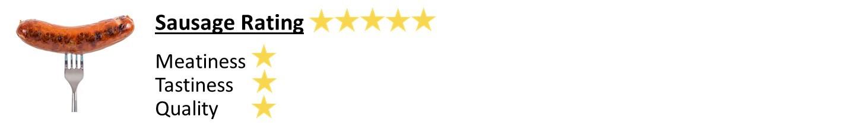GT Legends Cafe Sausage Rating