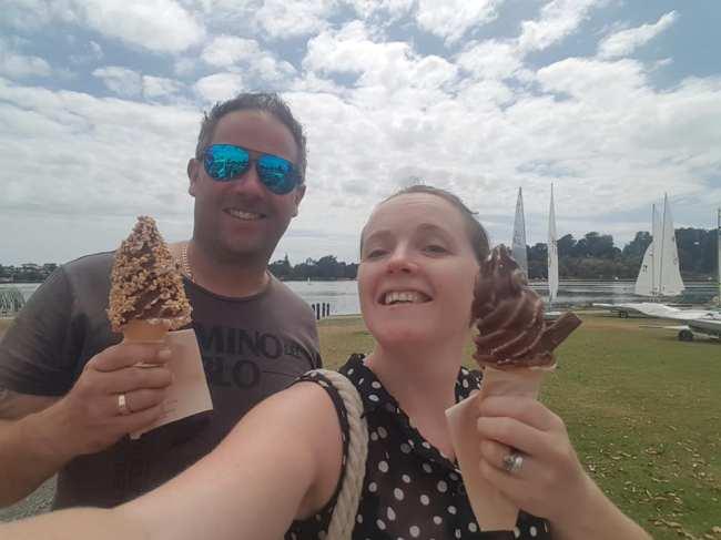 Ice-creams in the park