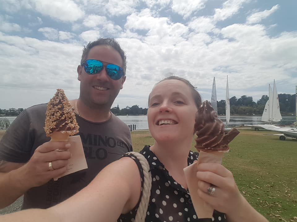Ice-creams in the park